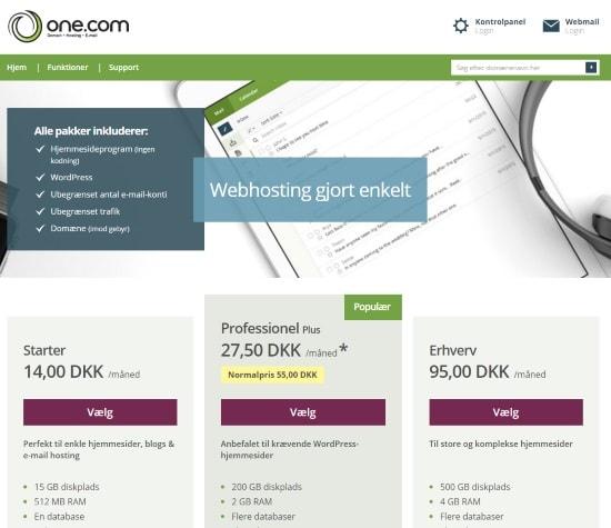 one hosting